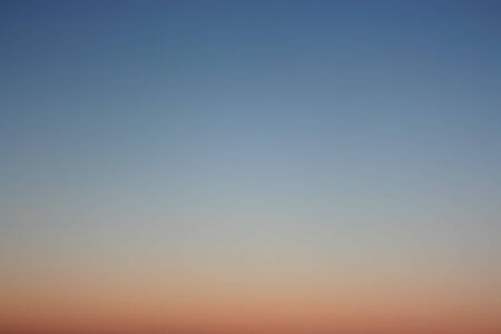 without clouds: Evening sky as background. Clear sky without clouds. Stock Photo