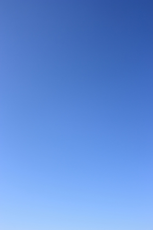 without clouds: Clear sky as gradient . Azure sky without clouds.