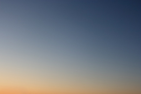 without clouds: Clear evening sky without clouds. Sky as background or gradient. Stock Photo