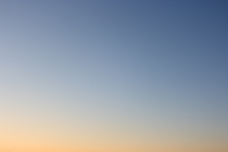 without clouds: Evening sky without clouds. Clear sky as background or gradient. Stock Photo