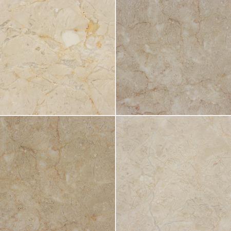 Cuatro textura diferente de una luz y m�rmol oscuro. (high.res.) M�rmol y granito de fondo con el patr�n natural. Foto de archivo