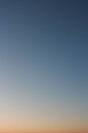 without clouds: Gradient. Night sky as background. Clear evening sky without clouds.