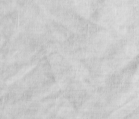 scrunch: White texture with delicate striped pattern. Natural cotton canvas.