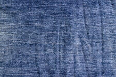 Arrugado textura jeans vintage. Fondo de los tejanos.