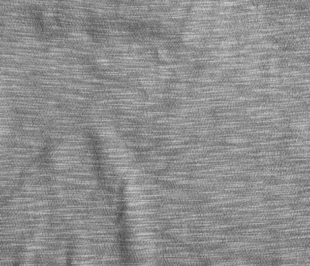 Gray fabric texture. Fabric background with delicate striped pattern. Stock Photo