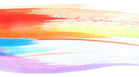 ink and wash: Watercolor abstract background, line on white. Handmade drawing.
