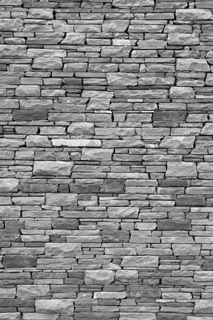 Slim stones brick wall texture.