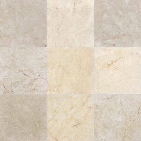 piastrelle bagno: sfondi di marmo, texture con il modello naturale. Ogni immagine 4 MP, 2000 x 2000. Archivio Fotografico
