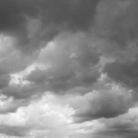 over the horizon: Storm sky, rainy clouds over horizon.