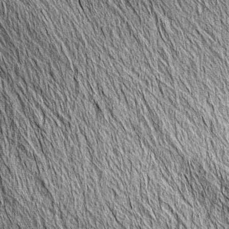 scrunch: Wave on gray crumpled fabric background. Gray fabric with delicate striped pattern.