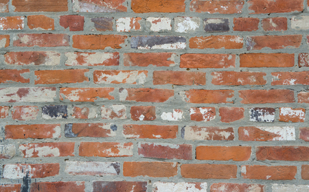 Old brick wall. High quality brick wall background or texture.