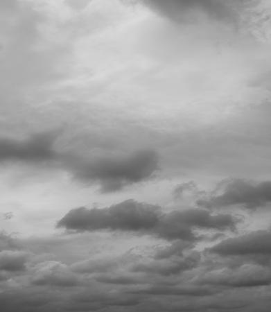 Beautiful overcast sky. Cloudscape over horizon, sky.