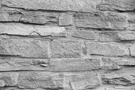 High detailed grey stone brick background, texture. Reklamní fotografie