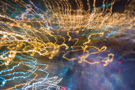 Beautifull abstract light background, electricity flash in the night