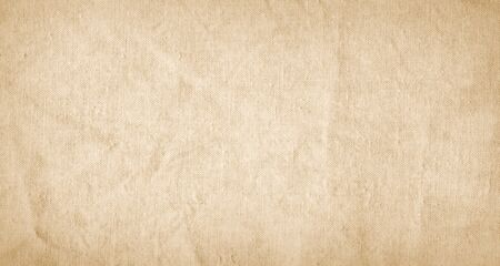 Beige fabric canvas, burlap