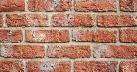 Beautiful hand made brick, loft. Brick wall texture or background.