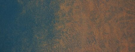 Metallic background with rust. Rusty old metal plate