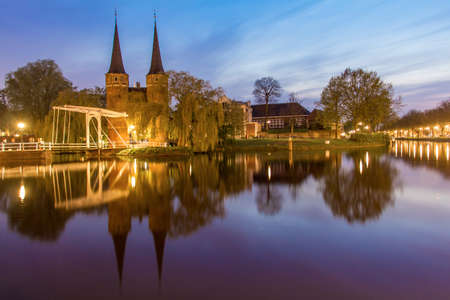 delftware: Holland travel in spring Stock Photo
