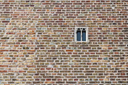 paredes de ladrillos: ladrillo viejo en Brujas, Flandes, B�lgica