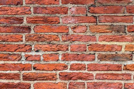 paredes de ladrillos: ladrillo viejo en Westminster, Londres Foto de archivo