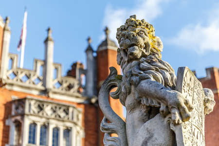 Hampton Court in autumn, London Editorial