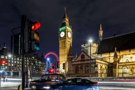 Big ben in the night, London