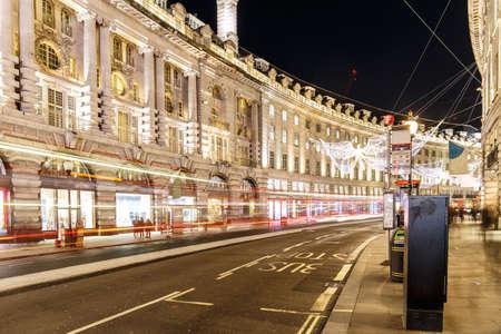 Christmas lights 2016 in  London, England