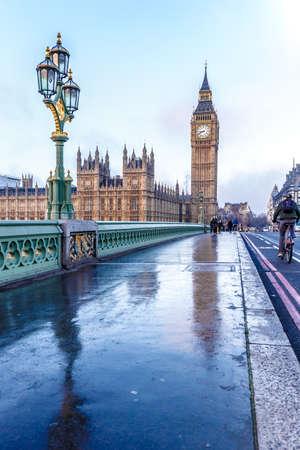 Big ben in winter morning, London