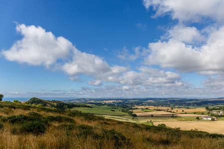 dorset: Travelling at Jurassic coast seaside (Devon), UK