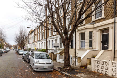 residential: Residential area in Hammersmith, London