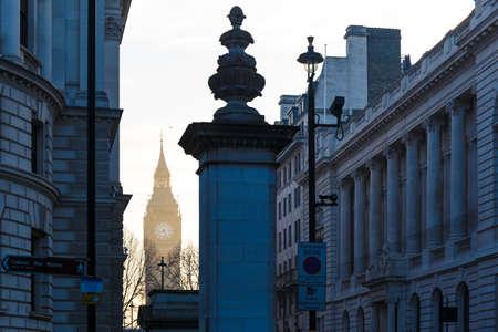 Big Ben in early winter morning, London