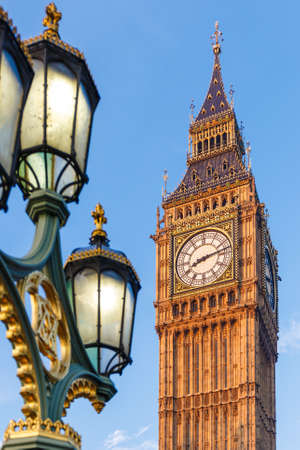 liberal: Big Ben in early winter morning, London
