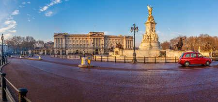 Buckingham palace in early winter morning, London