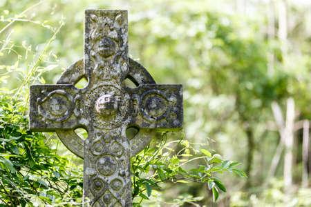 Nunhead-begraafplaats in de lente Stockfoto