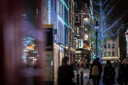 Covent garden in Christmas time, London