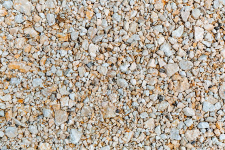 Small crushed stone crushed. Abstract background. Textured.