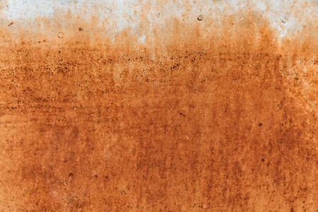 Old metal iron panel. Rusted metal texture. Background.