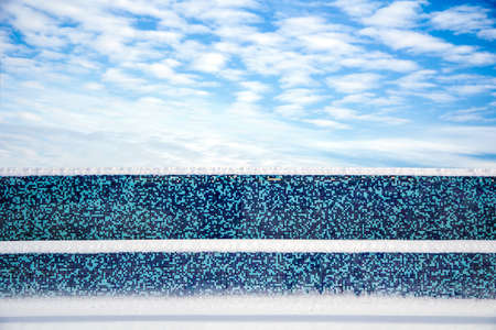 palate: Fence with snow located parallel to the palate