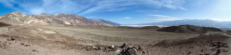 panoramic view of the death valley national park Stockfoto