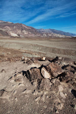 view of death valley national park photo