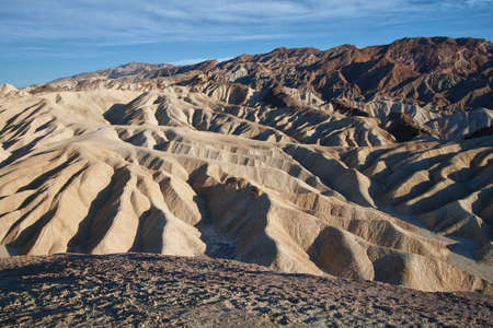 view of dunes in death valley national park photo