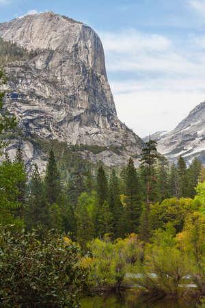 rocks in yosemite national park, california, usa photo