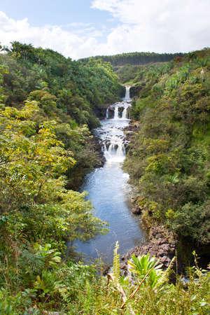 Umauma falls in Hawaii
