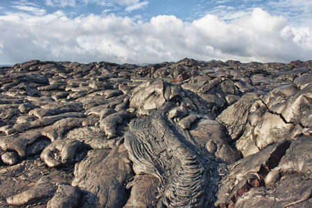 lava rocks in Hawaii photo