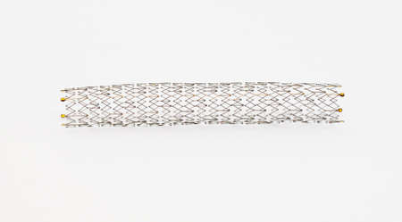 aneurism: self-expanding nitinol stent for endovascular surgery