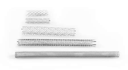nitinol: stents of various sizes for endovascular surgery