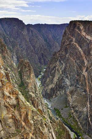 Black Canyon Of The Gunnison National Park in Colorado, USA