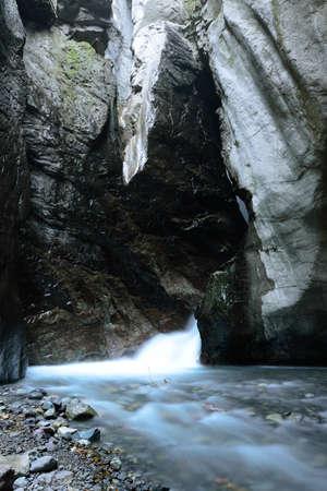 ouray: Ouray Colorado Box Canyon Waterfall