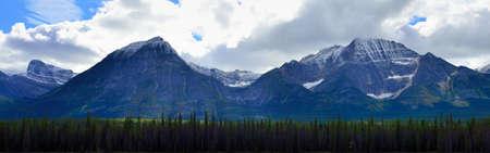 panoramic alpine scenery