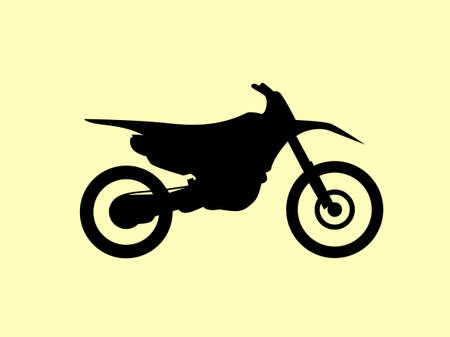 dirt bike: Motocross motorbike background